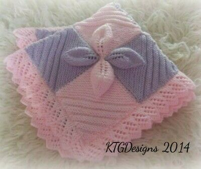 cd2a1ac3c BABY DK KNITTING pattern to knit leaf square car seat blanket ...