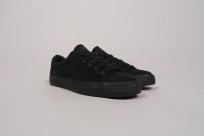 Converse Cons Star Player ox triple black EUR 41.5 US 8 NEU skate huf  stussy huf 3b385a115