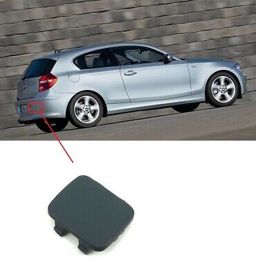 BMW 1 E81//E87 04-11 GENUINE REAR M SPORT BUMPER TOW EYE HOOK COVER CAP