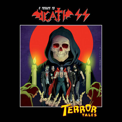 COMPILATION - Terror Tales A Tribute To Death Ss (box 3 Cd)