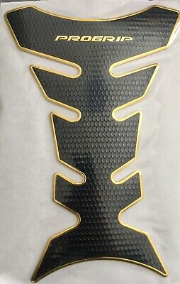 Progrip Black Gold Motorcycle Fuel Tankpad Tank Protector Cover Sticker Yamaha