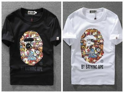 9c0363d6 BATHING APE KID BABY MILO Tee BAPE Short Sleeve T-shirt Panda Print Lover  Tops