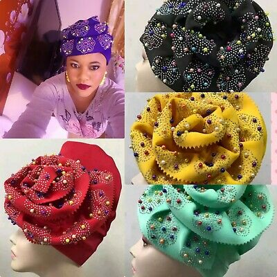 Nigerian Turbans For Women African Aso Oke Auto Gele For African Hats