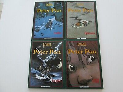 Peter Pan Loisel T1/2/3/4 Be/tbe 4X Reeditions Opikanoba Tempete Mains Rouges
