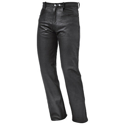 Held Chace Black Motorrad Motorcycle Motorbike Mens Leather Jeans All Sizes