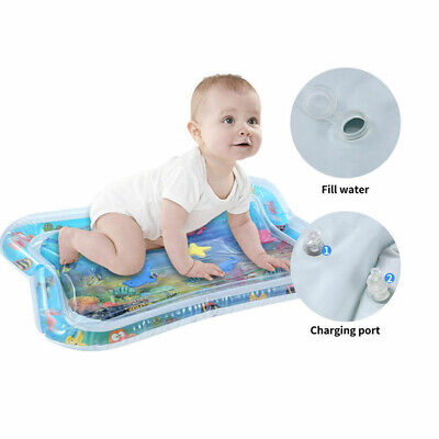 66x50cm Best Tummy Time Water Play Mat for Kids n Baby,Large 6 sea toys in mat
