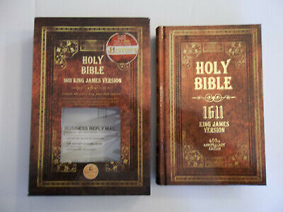 Holy Bible, 1611 King James Version by Thomas Nelson (2010, Hardcover, New...