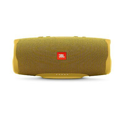 JBL Charge 4 Yellow Portable Bluetooth Speaker