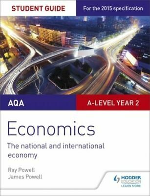 Aqa A-level Economics Student Guide 4: The National And International Economy Po