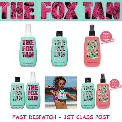 The Fox Tan RAPID MIST - RAPID WATERMELON MIST - RAPID ELIXIR - DRAWSTRING BAG