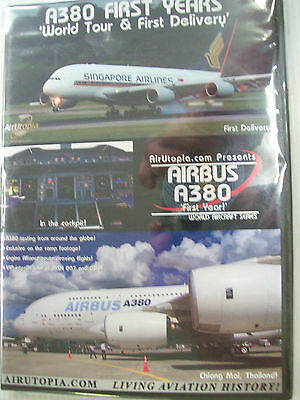AirUtopia  FIRST YEARS WORLD TOUR & FIRST DELIVERY A380