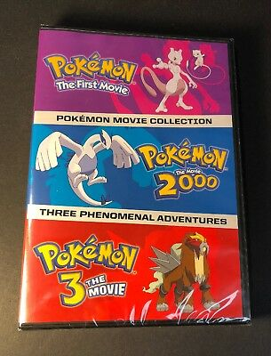 Pokemon The Three Movies Collection (DVD) NEW
