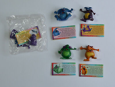 Yowie Multi Piece Men With Papers One Still Sealed