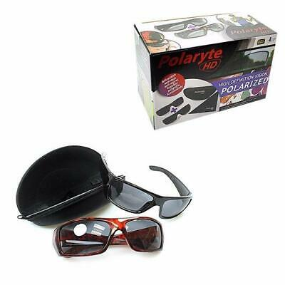 2f62aa96fe 2 In 1 Box Polaryte Hd Sunglasses Anti Scratch Useful For Cycling Driving Uk