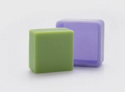 single square Silicone soap Mould plaster Mold