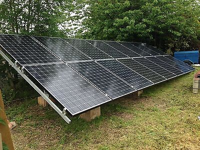 10Kva 10Kw  Solar Panel Photovoltaic  Off Grid Stand Alone Kit Free Electricity