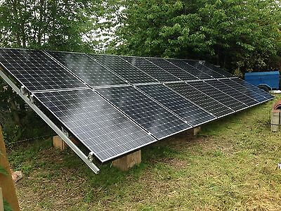 15Kva 15Kw  Solar Panel Photovoltaic  Off Grid Stand Alone Kit Free Electricity