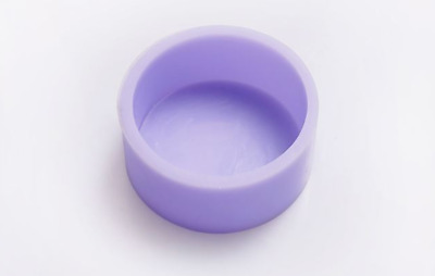 Single circle Silicone soap Mould plaster Mold