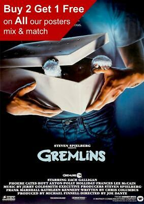Gremlins 1984 Movie Poster A5 A4 A3 A2 A1