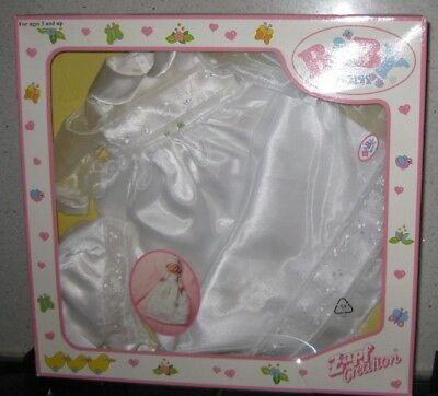 Zapf Creations Baby Born Christening Outfit Classic Set *Brand New In Box*