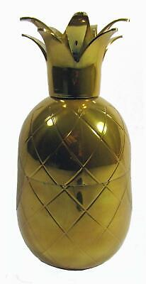 Cobbler Cocktail Shaker Pineapple Gold 3 Piece MGF 19 x 9 cm