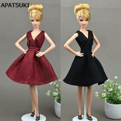 Doll Dresses Classical Evening Dress Purely Manual Clothes for 11.5inch Doll Toy