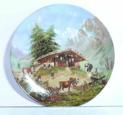 Collection Plate Seltmann Weiden Bergleben on the Alm - Certificate Boxed