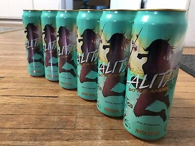 *FULL* ALITA BATTLE ANGEL Arizona Green Tea LIMITED EDITION Collectable **NEW**