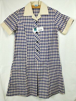 New Dobsons Koonung Secondary College Dress Size 8a Summer School Uniform Teen