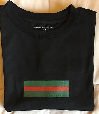 "51fd30e1 Some Notice, Some Know This, This Is Not Supreme Box Logo Tee ""Gucci"