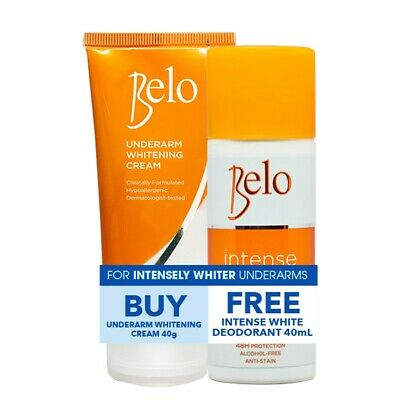 Belo Intensive Whitening Underarm cream and Deodorant