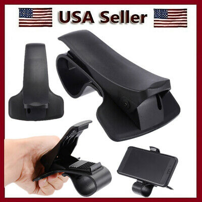 Universal Car Dashboard Clamp Clip Mount Holder Stand for Mobile Phone GPS US