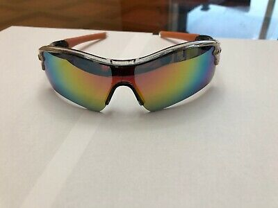 1d8012d755fda Oakley Radar Path Sunglasses Polished Clear Frame W  Fire Iridium Lens
