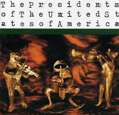 PRESIDENTS OF THE UNITED STATES AMERICA Self Titled CD