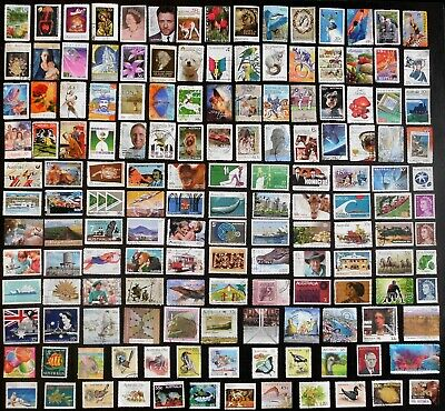 AUSTRALIA mixed bulk lot, decimal collection, used, 150 different, MAU282