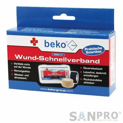 Beko Careline Wund-Schnellverband Cerotti/Verband-Box - Rotolo 2 25 mm x 4,5 M