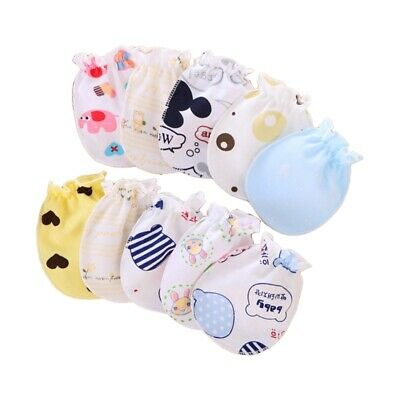Baby Gloves Anti Scratch Face Hand Guards Protection Soft Mittens Sleeve