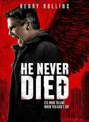 He Never Died (DVD, 2016) Brand New/SEALED*  FAST FREE SHIPPING!