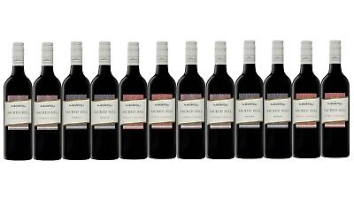 Red Wine Mixed Sacred Hill Ultimate Barbecue Pack 12x750ml Fast & Free Delivery