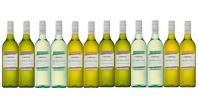 White Wine Mixed - Ultimate Dinner Party Wine Pack 12x750ml Fast & Free Delivery