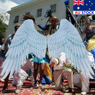 Carnival Party Cosplay Wedding Costume Props Mardi Gras Adult Unisex Angel Wings