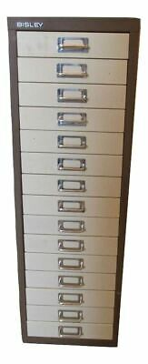 Bisley 15 Multi Drawer Filing Cabinet (F4C-384-976)