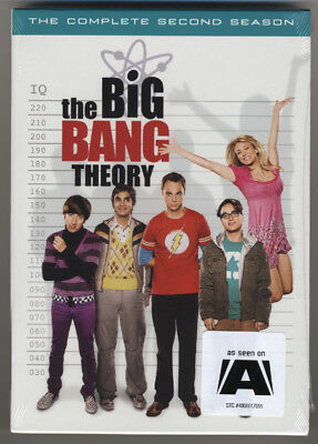 Big Bang Theory * Complete Second Season * Season Two * Dvd * New & Sealed