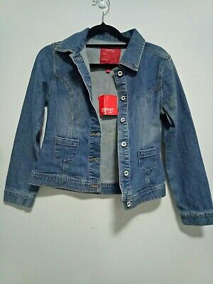 BNWT Esprit Kids Denim Jacket In Size 12
