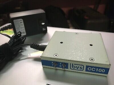BVS Broadcast Video Systems CC100 Video Closed Captioning Decoder + 9VDC Power