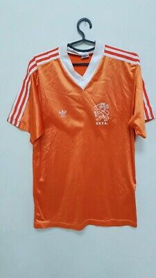 Holland 1988/1990 Home Football Shirt Jersey Adidas Vintage Size L Adult