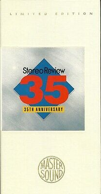 Stereo Review 35th Anniversary  MasterSound Sampler SBM Longbox CSK-5033 OOP