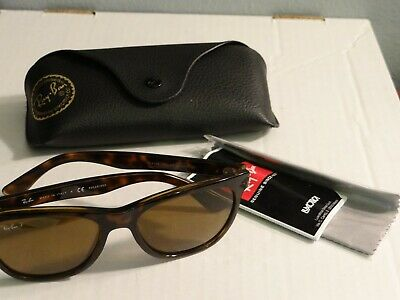 19c90465730a0 RAY-BAN RB4184 TORTOISE Polarized Sunglasses (710 83 54 17 3P) And ...