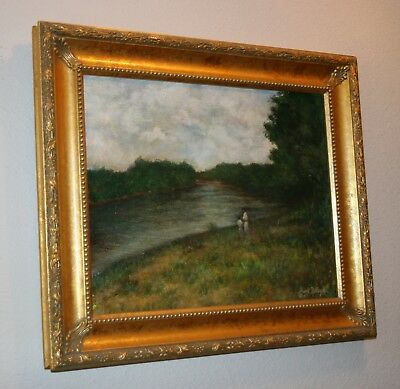 Original Oil Painting by Frank Kelley Jr. Professionally Framed Fine Art