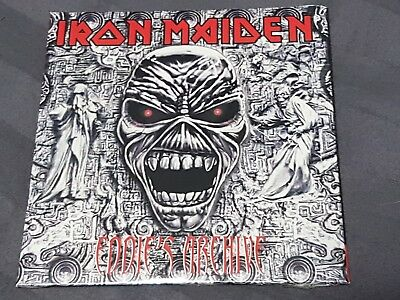 Iron Maiden Eddies Archive 8 Track Sampler Cd New Sealed Csk59260
